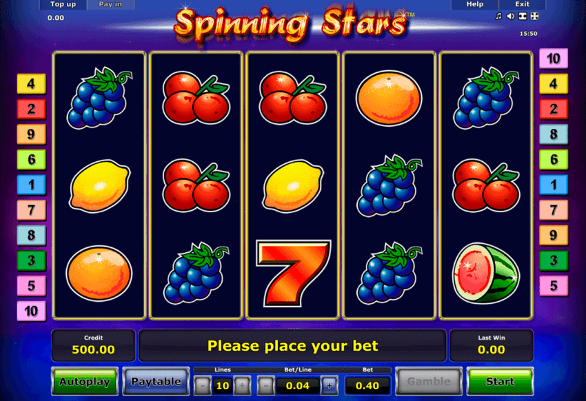 How To Play The Spinning Stars Slot Game