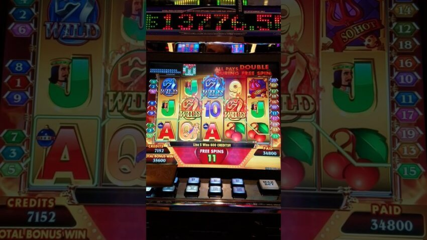 So Hot HTML5 Slot Review & Guide Online